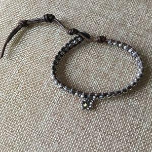NWOT Chan Luu Single Wrap Charm Bracelet